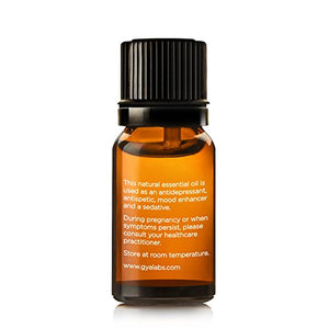 Ylang Ylang Essential Oil 10 ml - 100% Pure, Undiluted, Natural & Therapeutic Grade for Aromatherapy, Skin and Relaxation - Gya Labs