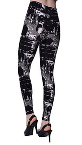 Urban Goth Printed Brushed Leggings