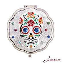 Witch's Day of The Dead Hand Mirror by Jinvun