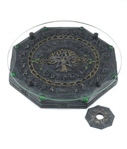 Tree of Life with Pentagram Wiccan Ouija Board