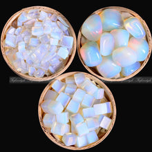 Energy Healers Only | Store of witchcraft & magic supply - White Opal Rocks with Polished Stones and Minerals -