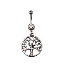 Wiccan Symbol Navel Belly Rings
