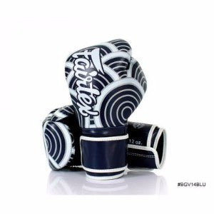 "FairTex Boxing Gloves ""Blu Japanese Art"""
