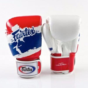 "FairTex Boxing Gloves ""Thai Flag"""