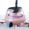 Image of Electric Makeup Brush Cleaner & Dryer Set