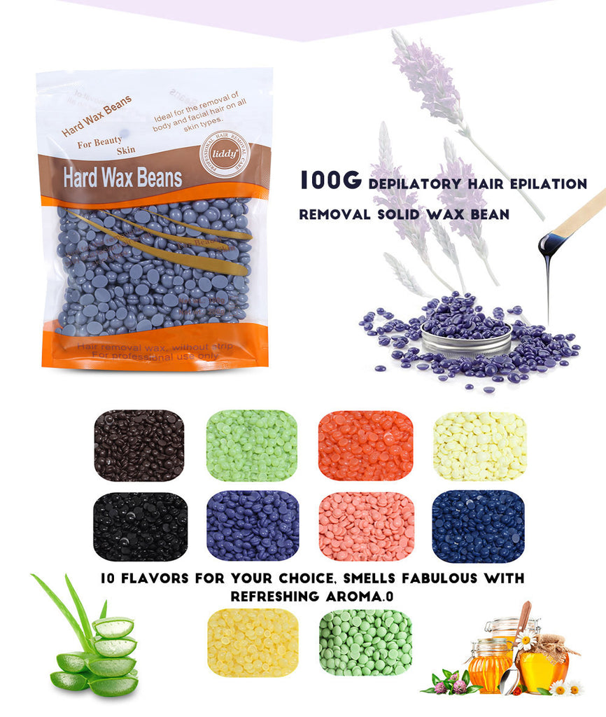 10 Scents Wax Depilatory Beans