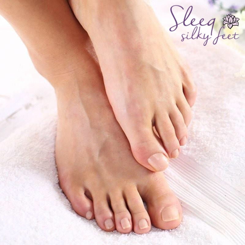Sleeq Silky Feet - Deep Exfoliation Peel Socks