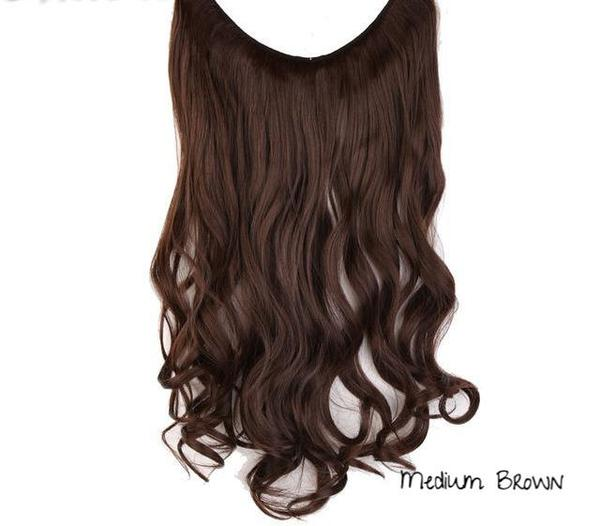 Sleeq Invisible Halo Hair Extensions