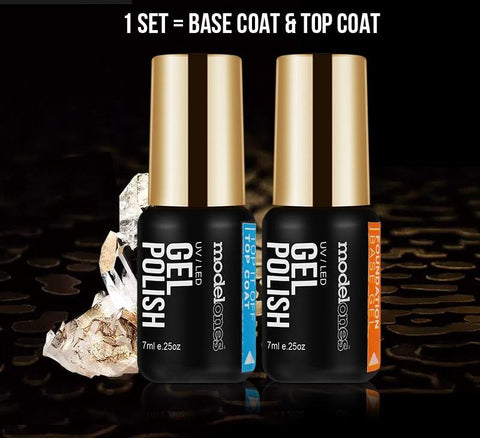 Gel Polish Base & Top Coat Set