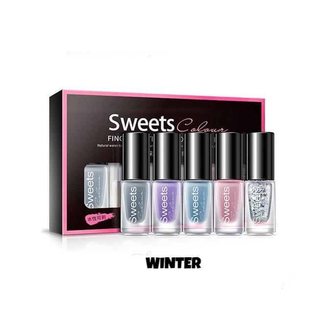 Peel-Off Nail Polish Set