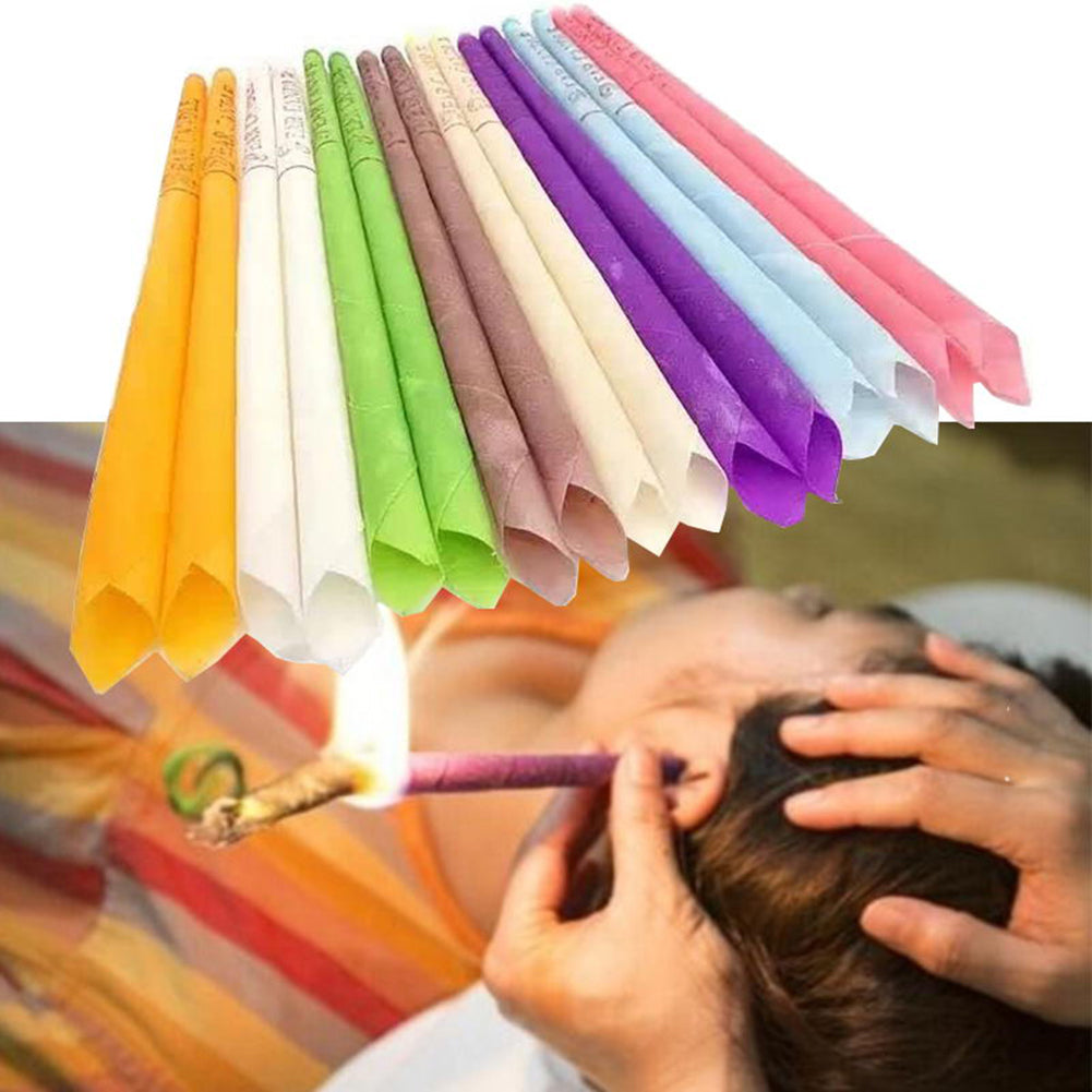 Natural Candling Earwax Removal & Treatment (10Pcs)