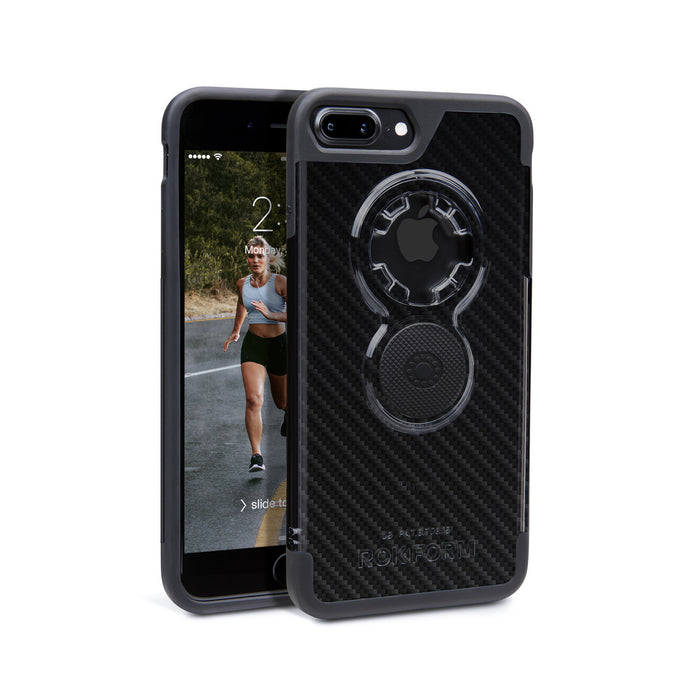 iPhone 7 Plus Crystal Carbon Fiber Finish Case