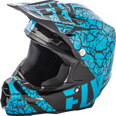F2 Carbon Fracture Helmet Light Blue-black X