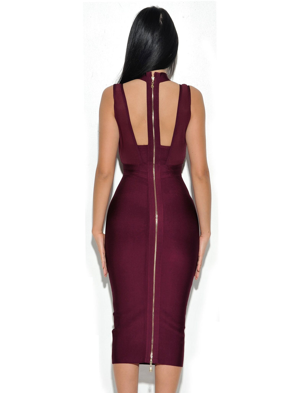 High Waist Bandage Dress - Couture Stalker