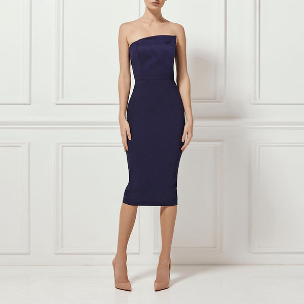 Sleeveless Midi Dress - Couture Stalker