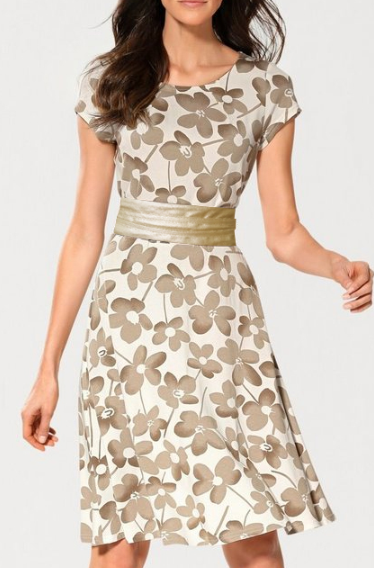 Breezy Floral Print Dress - Couture Stalker