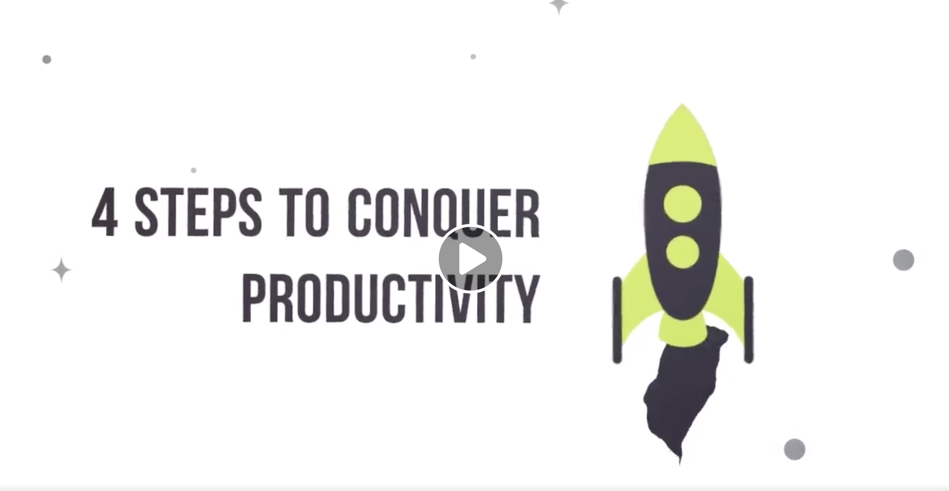 4 Steps to Conquer Productivity