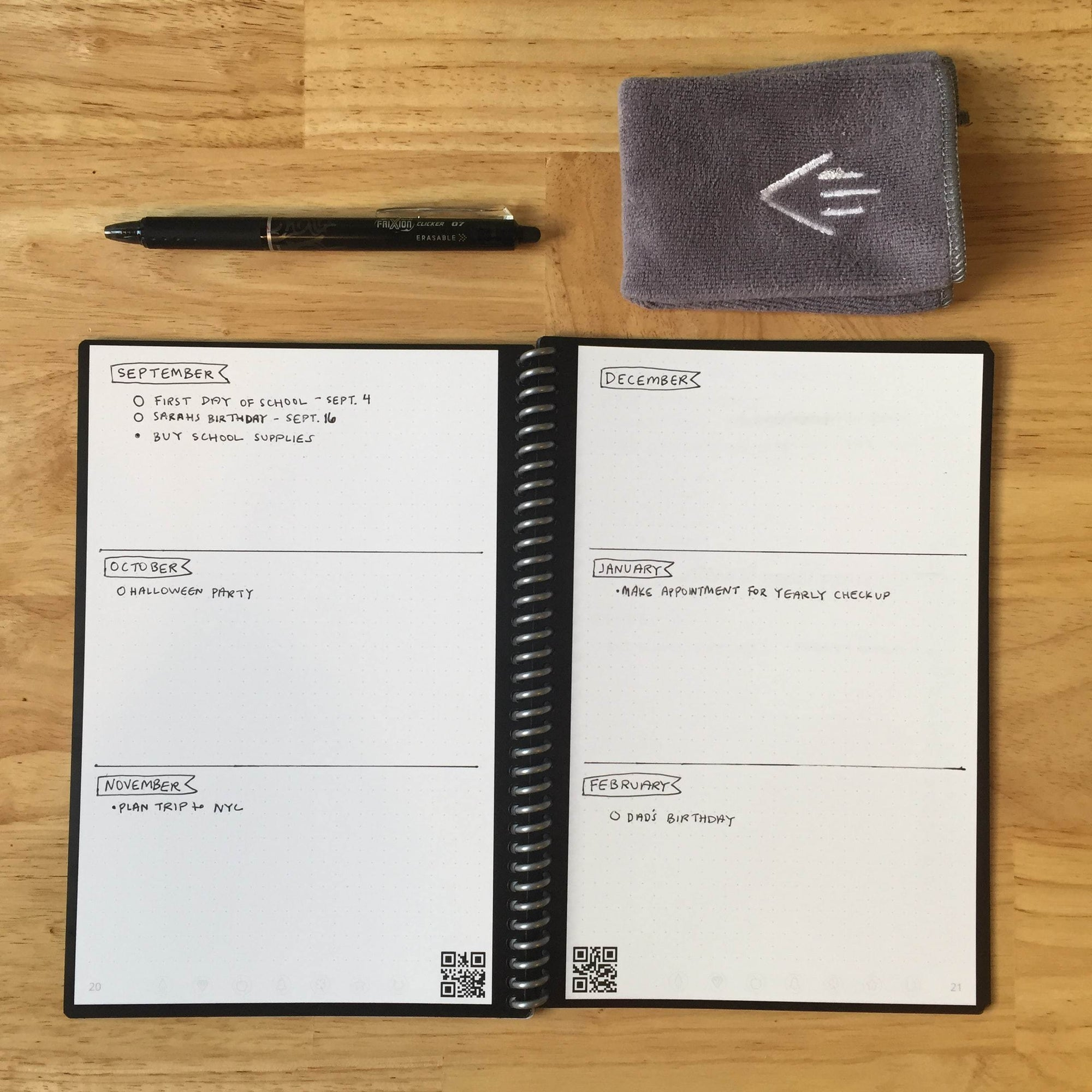 How to Bullet Journal with Your Rocketbook