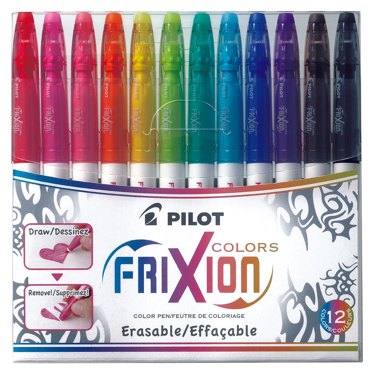 Pilot FriXion 12 Pack - Works with all Rocketbooks