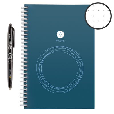 "Rocket Innovations notebook Executive Rocketbook Wave meta:{""Size"":""Executive""}"