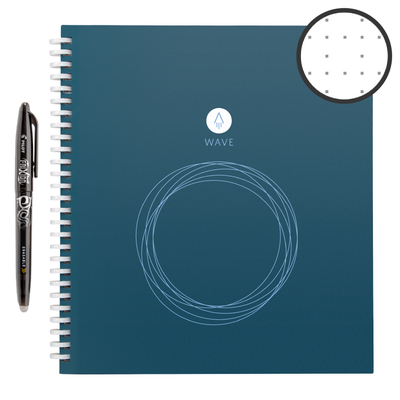 "Rocket Innovations notebook Standard Rocketbook Wave meta:{""Size"":""Standard""}"