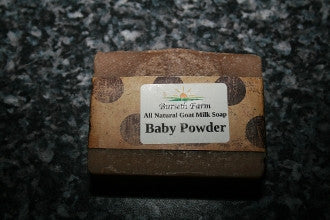 Baby Powder Goat Milk Soap