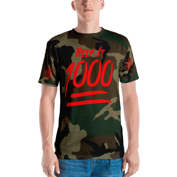 Keep It 1000 Camo T-Shirt