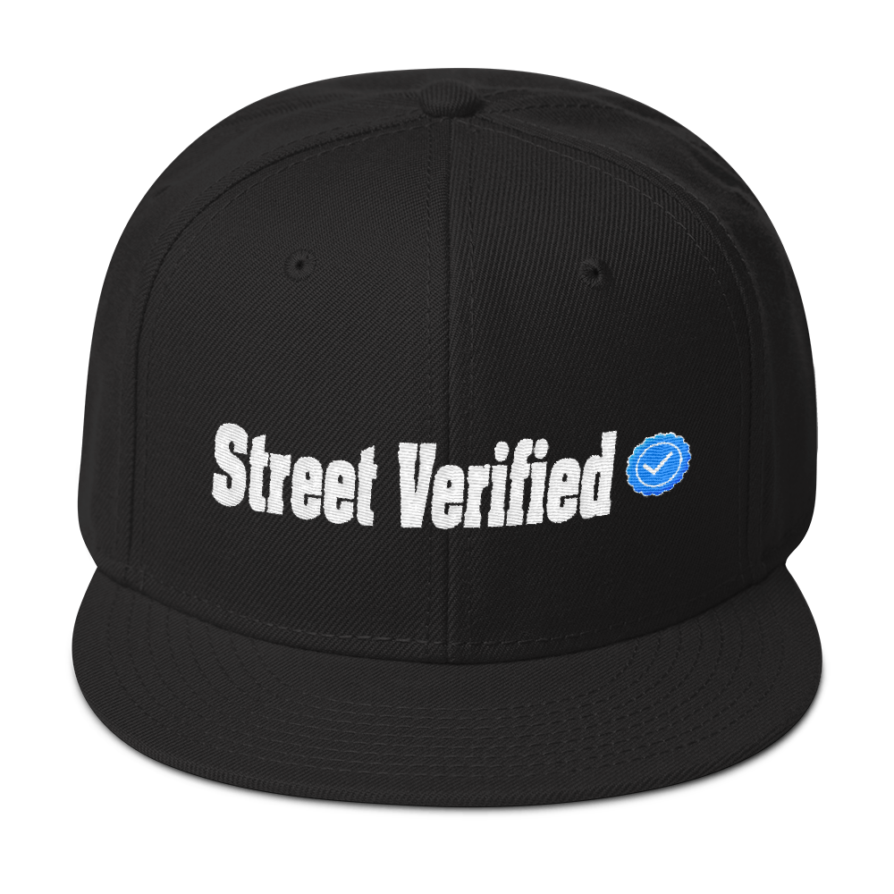 Street Verified Snapback Hat