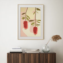"Load image into Gallery viewer, ""Bottle Brush"" - fine art giclee paper print"