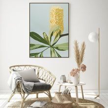 "Load image into Gallery viewer, ""Coastal Banksia"" - fine art giclee canvas print"