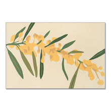 "Load image into Gallery viewer, ""Golden Wattle"" - fine art giclee canvas print"