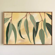 "Load image into Gallery viewer, ""Gum Lagoon"" - 914 x 610mm framed acrylic on canvas painting"