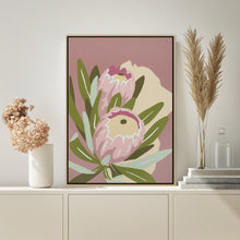 "Load image into Gallery viewer, ""Proteas"" - fine art giclee canvas print"