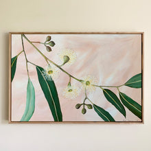 "Load image into Gallery viewer, ""Velvet Blooms"" - 508 x 762mm framed acrylic on canvas painting"