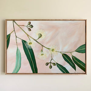 """Velvet Blooms"" - 508 x 762mm framed acrylic on canvas painting"