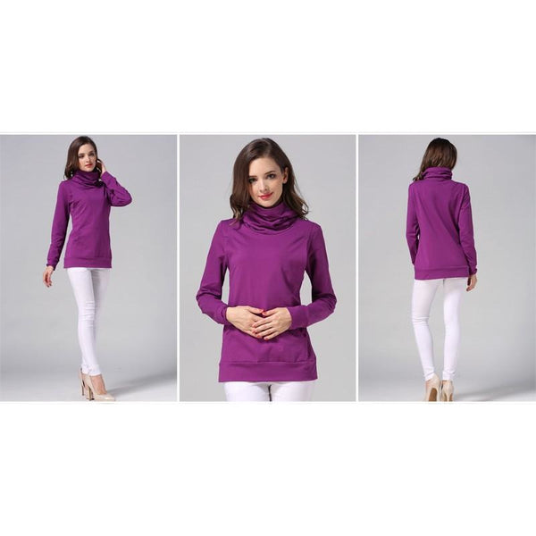Turtleneck Long Sleeve Top