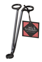 Wickman Wick Trimmer Wick Dipper and Bell Snuffer Matte Black Gift Set