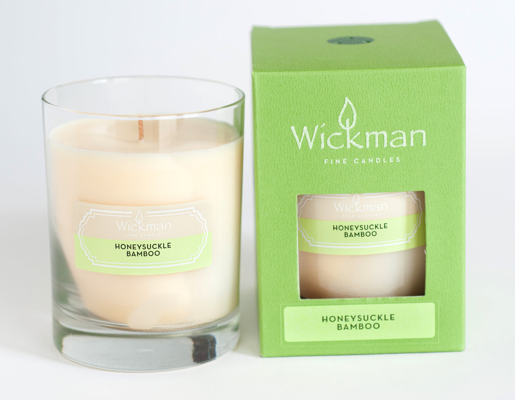 2 Candles - HoneySuckle Bamboo Scent - Best Screen Porch Candle on the Market
