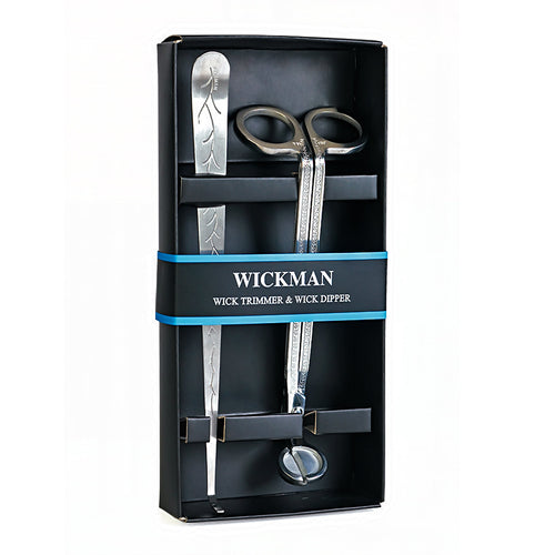 Wickman Two Piece Gift Set with Wick Trimmer and Wick Dipper