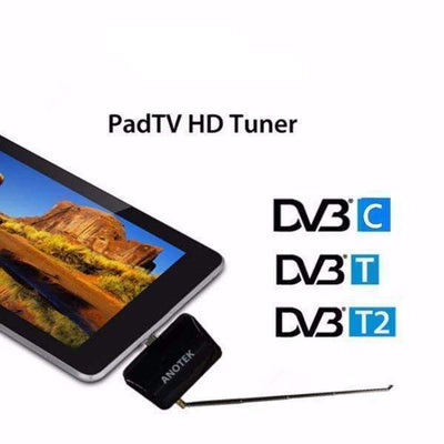 DVB T2 DVB-T DVB-C TV Micro USB Mobile Live TV Receiver for Android Phone / Tablet