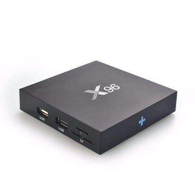 Original X96 Android 6.0 4K S905X Quad Core WiFi Smart Streaming TV Box [EU Plug]