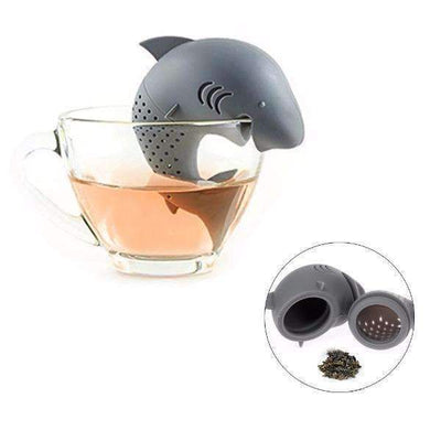 Shark Shape Silicone Tea Infuser Strainers Diffuser