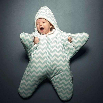 Starfish Baby Winter Warm Sleeping Bag [3 Colors Available] - Peeksify.com