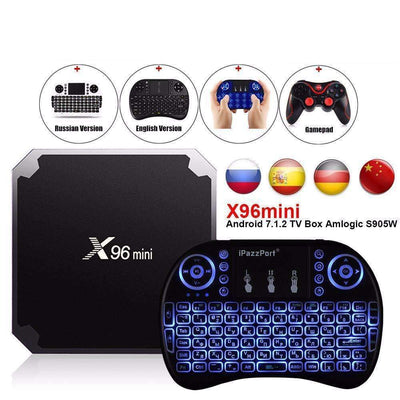 X96 Mini Android 7.1.2 TV Box Amlogic S905W Quad Core WIFI HDMI 4K*2K HD Smart Media Player