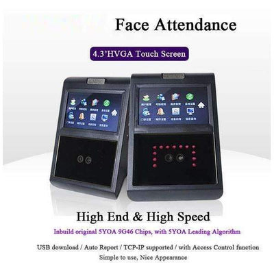 Face Facial TCP IP Employee Attendance Access Control Biometric Access Control System - Peeksify.com