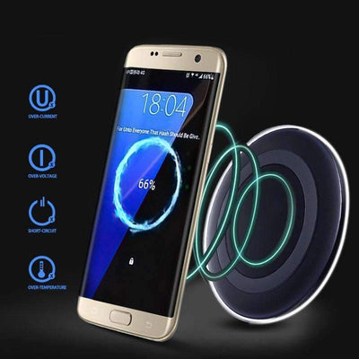 Universal Qi Wireless Charging Pad for Mobile Devices - Peeksify.com