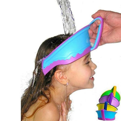 Adjustable Baby and Infant Protective Shower Cap