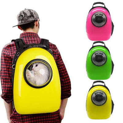 Pet Space Capsule Backpack Carrier for Dogs & Cats