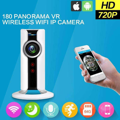 720P Home Security IP WiFi Mini CCTV Surveillance Camera with Night Vision - Peeksify.com