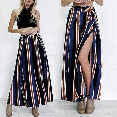 Palazzo Wide Leg High Waist Loose Long Pants